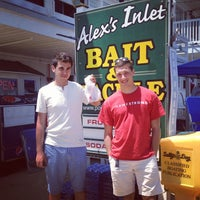 Photo taken at Alex's Bait & Tackle by emma t. on 5/28/2012