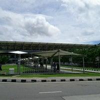 Photo taken at Rajiv Gandhi International Airport (HYD) by Mustafa A. on 9/4/2011