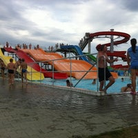 Photo taken at Aquapark Senec by Robert J. on 8/19/2011