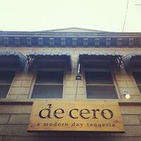Photo taken at De Cero Taqueria by Michelle W. on 6/14/2012