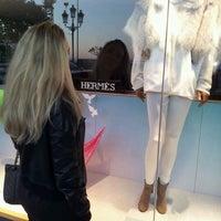 Photo taken at Hermès by Oggie B. on 1/6/2012