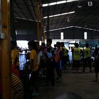 Photo taken at Futsal Centre Tamparuli by Natassia Sarah D. on 10/30/2011