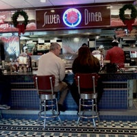 Photo taken at Silver Diner by Helena B. on 12/17/2011