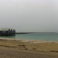 Photo taken at Busselton Jetty by Jamie G. on 4/27/2012