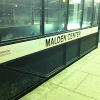 Photo taken at MBTA Malden Center Station by Totsaporn I. on 7/28/2011