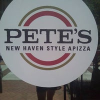 Photo taken at Pete's New Haven Style Apizza by Jen B. on 7/9/2011