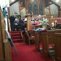 Photo taken at Mt Carmel Baptist Church by Sam S. on 1/28/2012