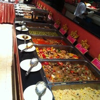 Photo taken at The Golden Kinnaree Buffet Restaurant by Vikrom S. on 10/5/2011
