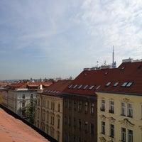 Photo taken at Hotel ANNA Prague by Katie H. on 5/29/2012