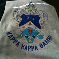 Photo taken at Kappa Kappa Gamma by Heather A. on 11/14/2011