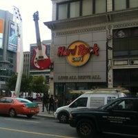 Photo taken at Hard Rock Cafe Toronto by Bruce C. on 10/20/2011