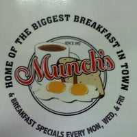 Photo taken at Munch's Restaurant by Chip G. on 12/30/2011