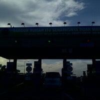 Photo taken at Tol Surabaya Gresik by Dena P. on 1/2/2012