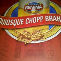 Photo taken at Quiosque Chopp Brahma by Ayatha F. on 9/2/2012