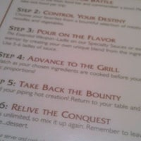 Photo taken at HuHot Mongolian Grill by Roxanne H. on 2/11/2012