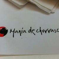 Foto tirada no(a) Mania de Churrasco por Carmem M. em 10/28/2011