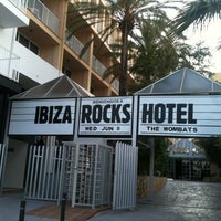 Photo taken at Ibiza Rocks Hotel by Anthony d. on 6/4/2011