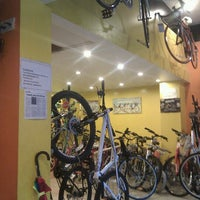 Photo taken at Surendar Cycle Stores: Track And Trail Outlet by Hari R. on 9/3/2011