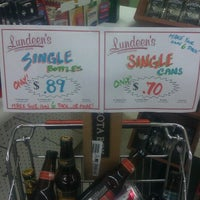 Photo taken at Lundeen's Liquor by Rocco H. on 8/12/2012