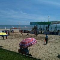 Photo taken at Rajamangala Pavilion Beach Resort by Pattarapol S. on 5/1/2012