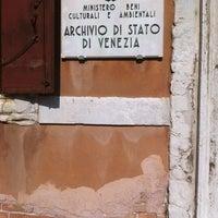 Photo taken at Archivio di Stato di Venezia by Marta T. on 3/8/2012