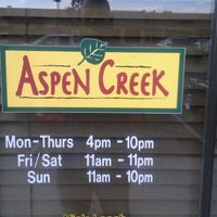 Photo taken at Aspen Creek by Cedric T. on 9/10/2011
