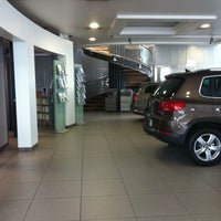 Photo taken at De Pieri Concessionaria Audi Volkswagen by John Q. on 1/3/2012