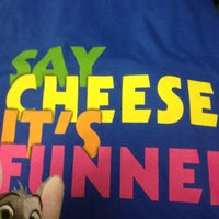 Photo taken at Chuck E. Cheese's by Tracy F. on 7/3/2012