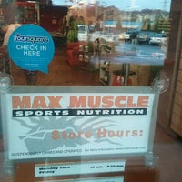 Photo taken at Max Muscle Cobb by Dwayne K. on 11/17/2011