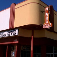 Photo taken at Alamo Drafthouse Cinema – South Lamar by Ryan on 9/13/2011