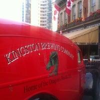 Photo taken at Kingston Brew Pub by David M. on 6/12/2012