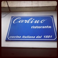Photo taken at Carlino Ristorante by Augusto C. on 6/20/2012