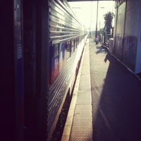 Photo taken at Amtrak/SEPTA: Newark Station by CJ W. on 5/18/2012
