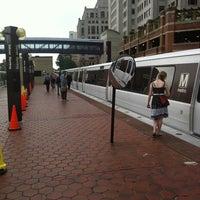 Photo taken at Silver Spring Metro Station by Kumar J. on 8/15/2011