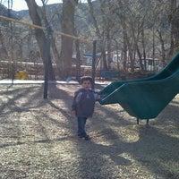 Photo taken at Manitou Springs Memorial Park by Blanca S. on 1/19/2012