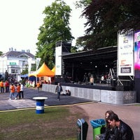 Photo taken at Parkfeest Oosterhout by Ron O. on 6/1/2012