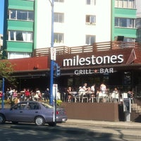 Photo taken at Milestones Grill & Bar by Mike W. on 8/4/2011