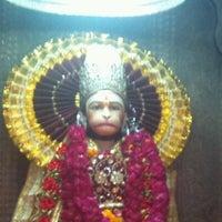 Photo taken at Sri hanuman temple by Hemanshu S. on 4/24/2012
