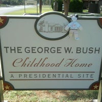 Photo taken at Geoge W Bush Childhood Home by Norma J. on 10/11/2011