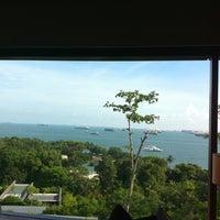 Photo taken at Capella Singapore by Raaj T. on 7/17/2011