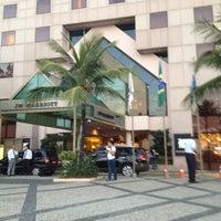 Foto tirada no(a) JW Marriott Hotel Rio de Janeiro por Washington L. em 3/8/2012