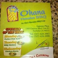 Photo taken at Ohana Hawaiian BBQ by Andre B. on 3/13/2012
