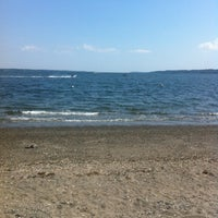 Photo taken at Portsmouth Beach by Edwin K. on 7/8/2012