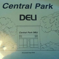 Photo taken at Central Park Deli by Chuck C. on 11/27/2011