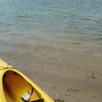 Photo taken at Lake Macbride Boat Rental by Paola L. on 5/28/2012