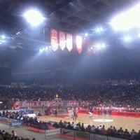 Photo taken at SEF - Peace & Friendship Stadium by LOUTRAKI's ParkHotel G. on 3/28/2012