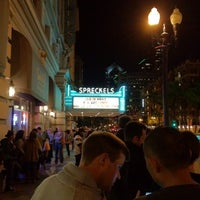 Photo taken at Spreckels Theatre by Elijah N. on 11/29/2011