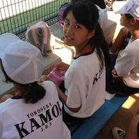Photo taken at 大津公園 by おそのさん on 8/22/2012
