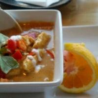 Photo taken at Hot Woks Cool Sushi by Cat C. on 10/3/2011