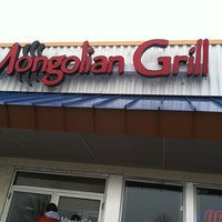 Photo taken at Mongolian Grill by Amy on 3/20/2011
